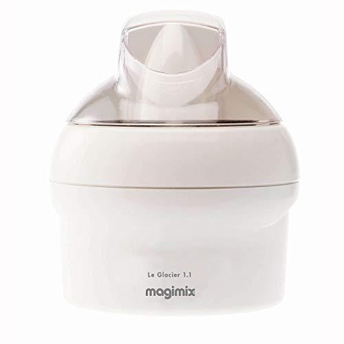 Magimix 11047 Le Glacier Ice Cream Maker, Non-stick, 1.1 liters, White