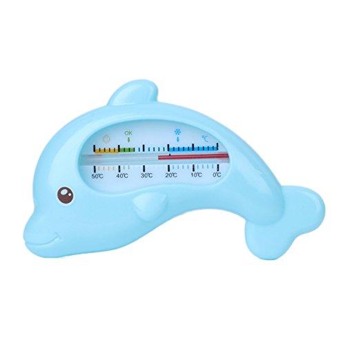 Water Thermometer Baby Baden Dolfijn Vorm Temperatuur Zuigelingen Peuter Douche, Blauw