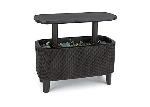 Keter Bevy Bar 3-in-1 Cocktail Table