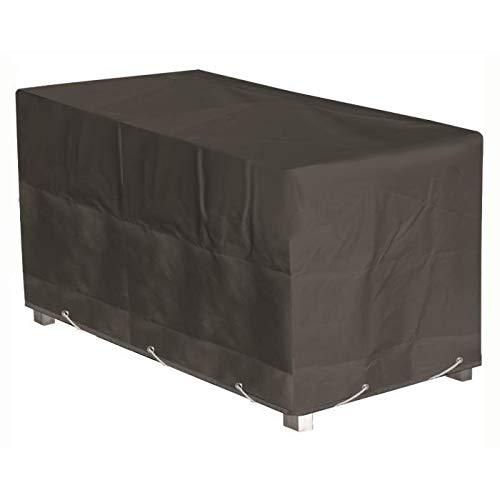 GREEN CLUB Housse de protection pour table de jardin - 220x120x65 cm - Anthracite