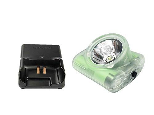 Wise Lite 2 Portable Hands Free MSHA Approved Cap Lamp & NWB-30 AC Charger Set