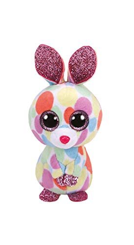 TY TY33010 Beanie Boo'S-Peluche Bloomy der Hase, 10 cm, Mehrfarbig