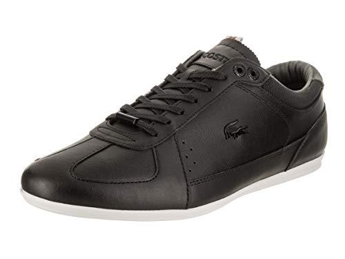 Lacoste Men's Evara 318 2 CAM Black/Off White Casual Shoe 7.5 Men US