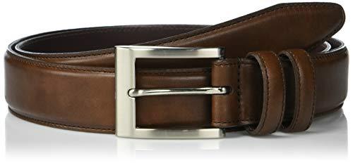 Allen Edmonds mens Wide Basic Dress Belt, Coffee, 34 US