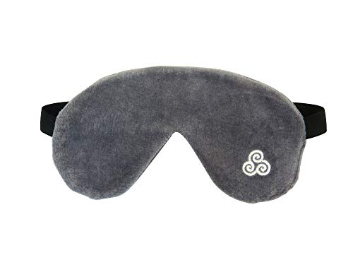 Premium Bio Schlafmaske mit verstellbarem Kopfband - Zertifiziert - Tausendfach getestet - von Schlafexpertin Christine Lenz
