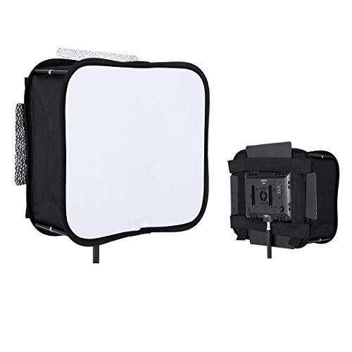 Difusor de Softbox para YONGNUO YN300 III II LED Panel de luz de Video Filtro Suave portátil Plegable - SB300