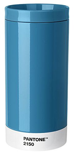 Pantone Travel Mug, Stainless Steel, ABS, Blue 2150, 7.5 x 7.5 x 16.4 cm