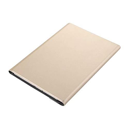 Teclado Bluetooth para Tableta Fudona de la Caja del Teclado para Samsung Galaxy Tab A 10.1 2019 SMT515 T510 T515 Tablet Magnetic Smart Bluetooth Teclado de Teclado + película Tablet con Funda