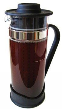 The TeaSpot Steep & Chill iced tea machine with loose leaf tea infuser