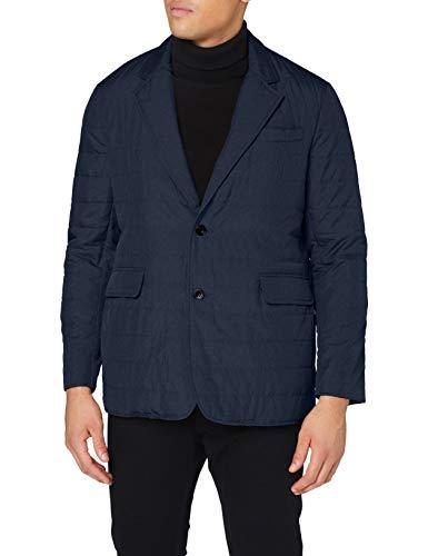 Hackett Mens LW Melange Blazer Jacket, 595NAVY, XL