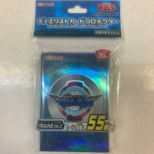 yugiohcard Yu-Gi-Oh! - VRAINS Ver.2 55pcs Sleeves - Card Protector F/S New Sealed Japanese