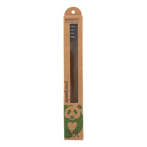 Green Panda, Toothbrush Bamboo, 1 Count