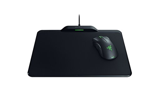 Razer Mamba HyperFlux Wireless Gaming Mouse & Mouse Pad: 16,000 DPI Optical Sensor - Chroma RGB Lighting - 9 Programmable Buttons - Mechanical Switches - Wireless Power Transfer