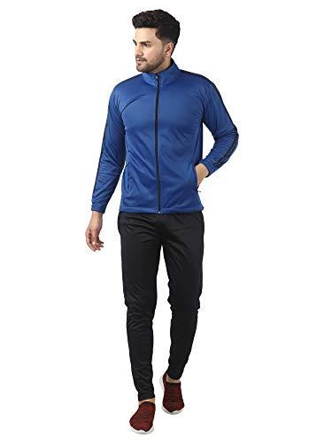 Gag Wears Men's Super Polyester Blend Solid Track Suit