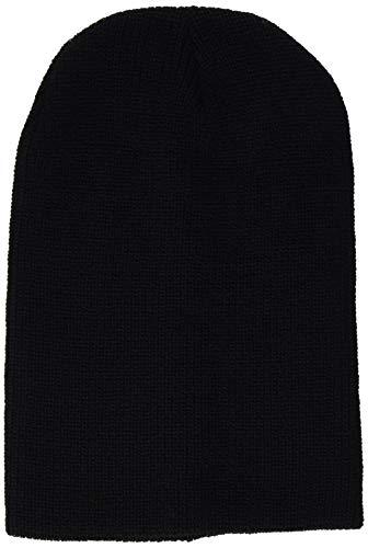 Beechfield B425.BLK Heritage Bonnet Mixte, Noir, Taille Unique