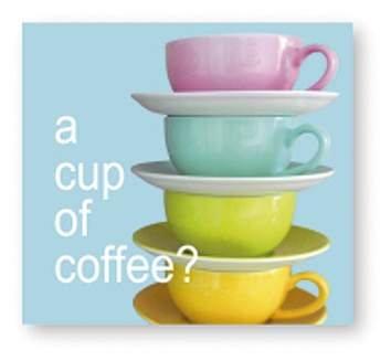 Avantgarde 1208-13130 kopje koffie moderne levende bedrukte servetten