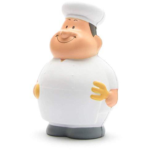 Gourmet Bert I Knautschfigur I Stressball I Anti-Stress I Handtrainer I H: 10 cm