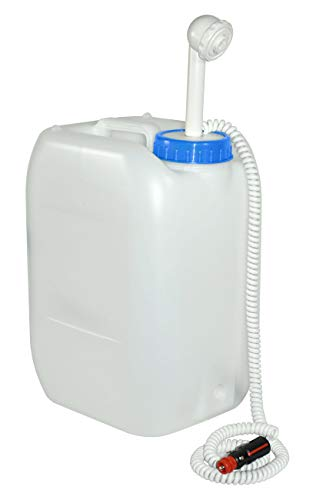 YACHTICON Mobile Camping Dusche 20 Liter - mit 12 Volt Adapter