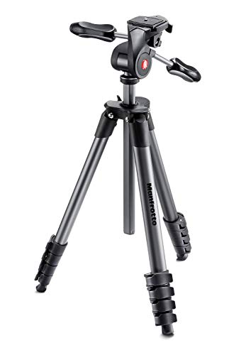 Manfrotto MKCOMPACTADV-BK Compact Advanced, schwarz