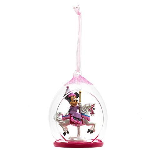 Disneyland Paris Minnie Mouse Open Dome Ornament