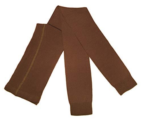 Weri Spezials Damen Leggings mit Baumwolle - Strumpfhose ohne Fuß - Warm und Modisch - in Mehreren Farben. (52-54, Eichel)
