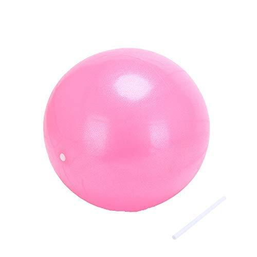 Jary Mini Equipo de la Aptitud de la Yoga de la Bola de Pilates Ejercicio Ball Balance Inicio li (Color : Pink)