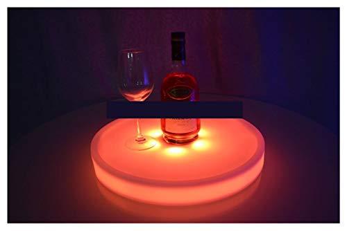 GUANGHEYUAN-J Portaghiaccio Lampada a LED Impermeabile LED UP Tray Tray Multi Colori RICARABILE LED LED LED TORNO TORNO TORNO TORNO Luce Luce Raffredda Bottiglie