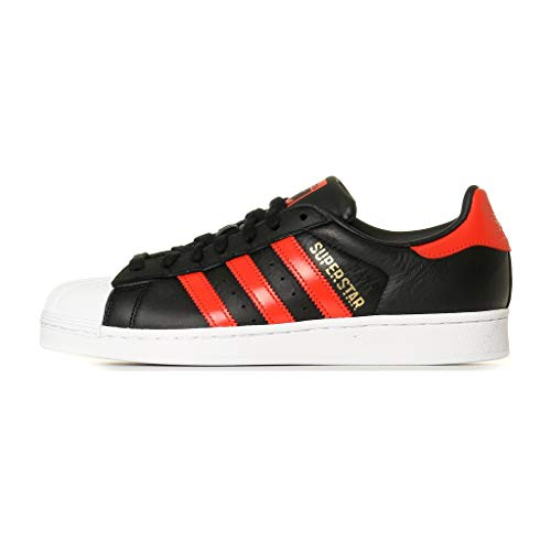 adidas Men's Superstar Fitness Shoes, Black (Negro 000), 7.5 UK