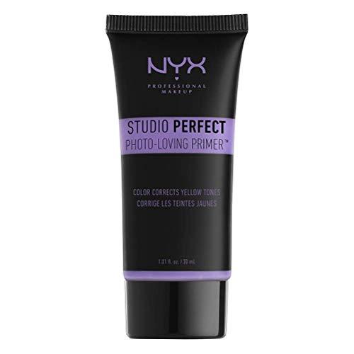 NYX Professional Makeup Studio Perfect Primer, Lavender, Makeup Primer, Ebenmäßiger Teint,...