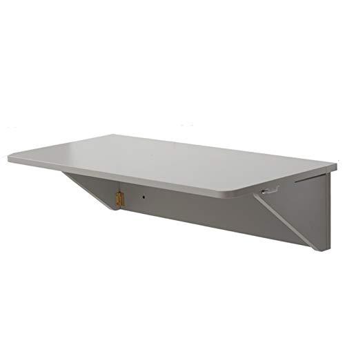 LLFF Mesa Plegable Mesa Plegable de Pared Gris, Mesa Plegable Plegable para Oficina en Casa/Garaje y Cobertizo/Lavadero/Bar en Casa/Cocina y Comedor (Size : 100X40cm/39.4inX15.7in)