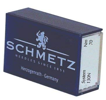 Best Prices! SCHMETZ Topstitch (130 N) Sewing Machine Needles - Bulk - Size 70/10