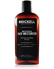 Brickell Men's Daily Essential Gezichtscrème voor Mannen, Natuurlijke en Organische Snel Absorberende Gezichtscrème met Hyaluronzuur, Groene Thee en Jojoba