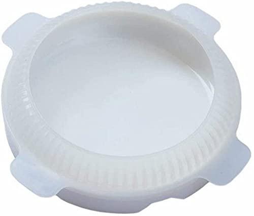 XQKJ Molde Redondo de Silicona para Tartas Eclipse para mousses Helados tortas de Gasa sartén para Hornear Accesorios de decoración Utensilios para Hornear Utensilios de Cocina