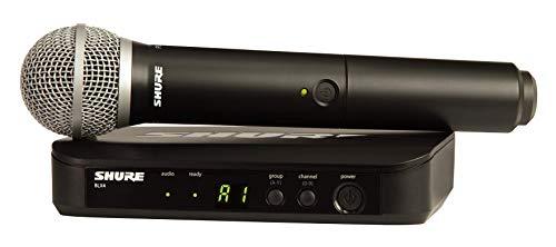 Shure BLX24 - PG58 (K14, 614-638 MHz) handheld wireless set