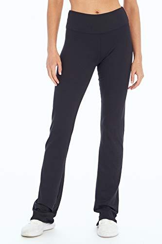 Marika Barely Flare Legging pour Femme, Femme, Pantalon, MLP0353A, Noir, s