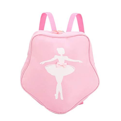 FENICAL Mochila para niños Bolso de Baile de Ballet Danza Gimnasio Mochila Escolar Mochila para niñas