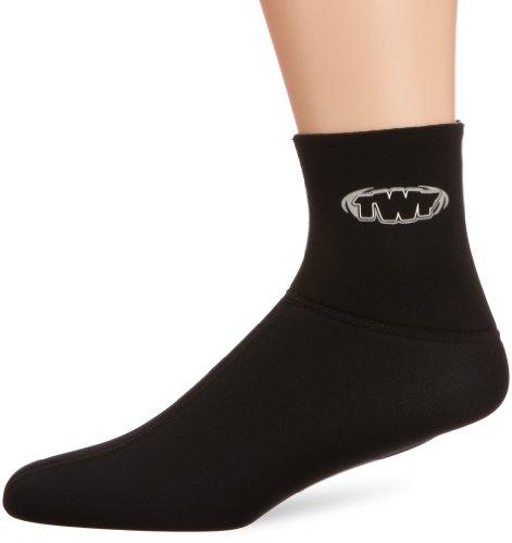 TWF - Calcetines, Color Negro, Talla L