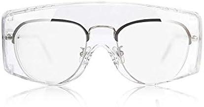 نظارات واقية للعينين من زينور نظارات أمان مضادة للضباب، حماية مثالية للعينين من أجل السلامة في المختبرات والمواد الكيميائي...