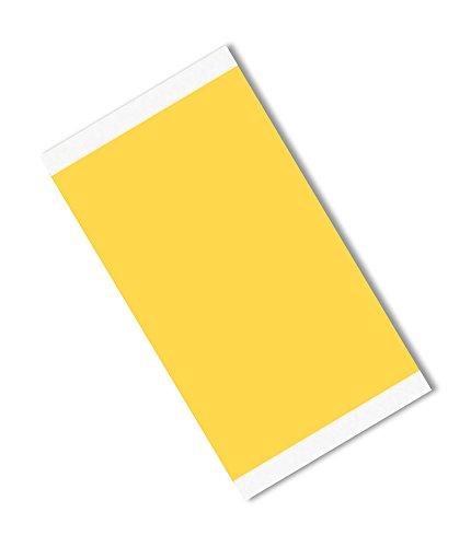 TapeCase Gold Polyimid/siliconen plakband, laag, statische folie, converteert van 3M 5419, -100 tot +500 graden F temperatuurbereik, 10,2 cm lang, 7,6 cm breed, rechthoeken, 25 stuks