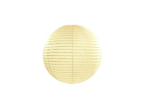 5 pièces lampe lanterne papier de jardin Crème de 25 cm équipement fêtes party