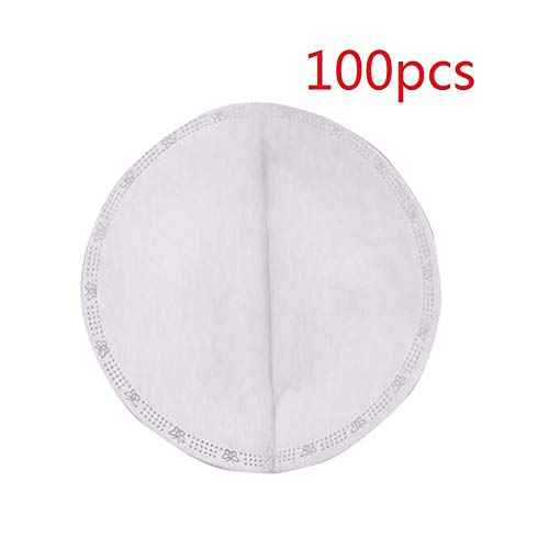 Masker Pakking Gezicht Masker Filter Pad Geactiveerde Koolstof Ademhaling Filters 50/100 PCS 100 stuks.