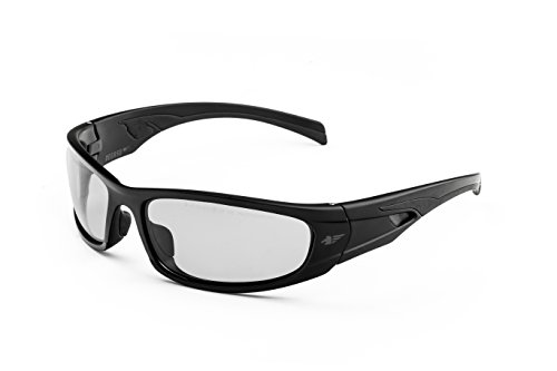 PEGASO 121.99.030 121.01-Gafas Proteccion Gama Sun Modelo FOTOCROM Lente PC Solar Fotocromática 1.7<3.1, Negro, L 🔥