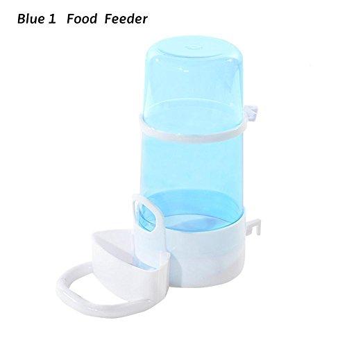 juxinuk 1pc Alimentadores automáticos de conejo de hámster para mascotas (Azul, 1)