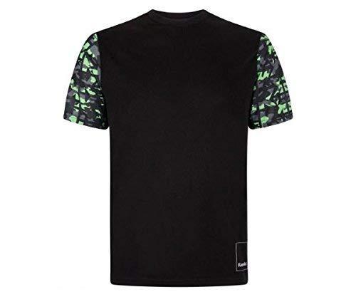 Kawasaki Camo Herren T-Shirt schwarz Größe M