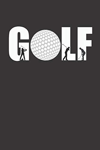 Golf Log Buch: Golf Score Journal I Golf Score Notizbuch I Notizbuch für Golfer mit Vorlagen für 53 Game Scores I Geschenk für den Ruhestand