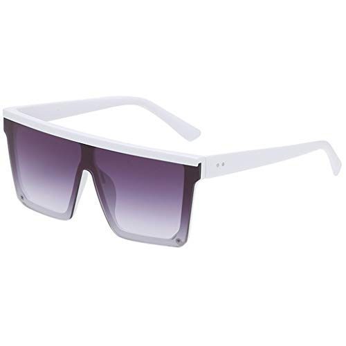 LUCKYCAT Unisex Sonnenbrillen Polarisiert Großer Rahmen, Anti Reflexion UV 400 Augenschutz Stilvolle Sonnenbrillen für Männer und Frauen