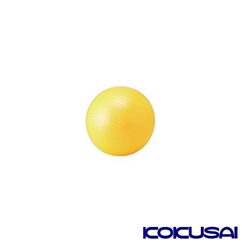 コクサイ トレーニング インナーマッスル エクササイズ シェイプアップ ダイエット フィットネスボール 55cm イエロー NLS7655