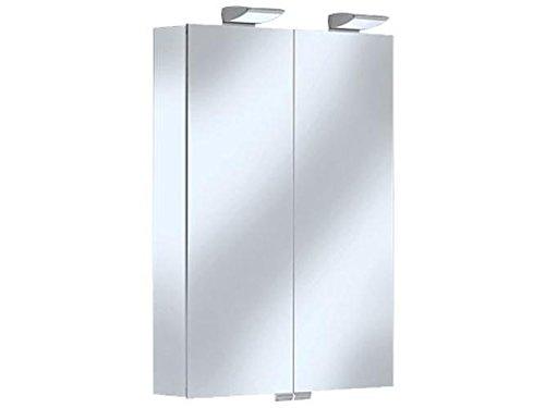Keuco 13501176302 spiegelkast Royal 35 13501, met schuiflade, met radio, 600 x 840 x 150 mm, sil-elox