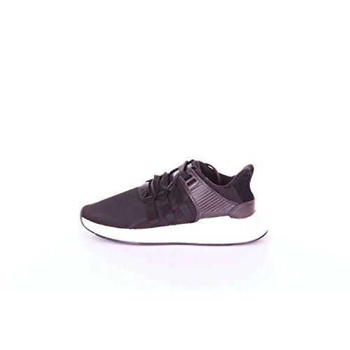 adidas Herren EQT Support 93/17 Sneakers, Schwarz (Cblack/cblack/ftwwht), 41 1/3 EU