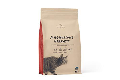 MAGNUSSONs Utekatt Trockenfutter für Katzen, 4.8 kg
